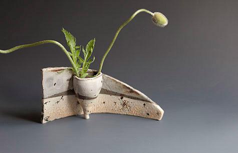 Landscape vase - Catherine White