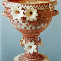 Minoan pot with lillies