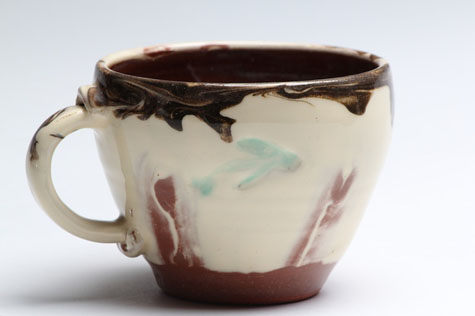 Angela Walford pottery cup