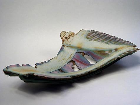 Abstract Dish Jim Robison