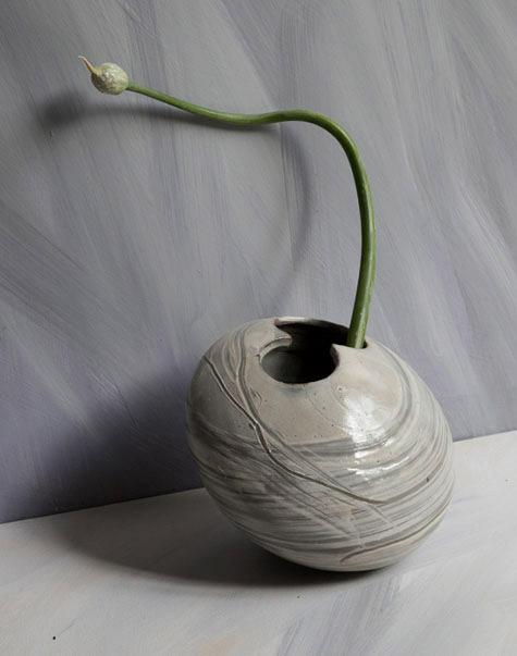 Small ceramic vase
