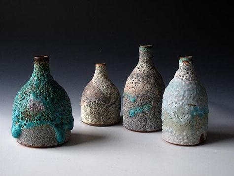 ceramic vessels by Katrina Pechal