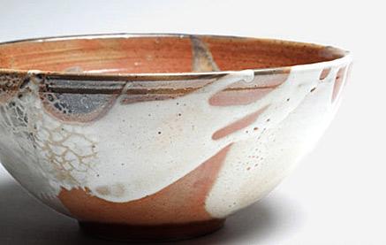 The new breed shino bowl - Angela Walford