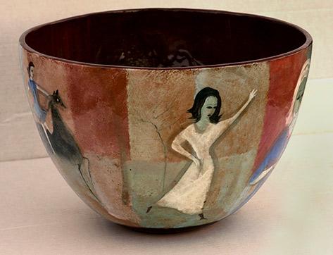 Polia Pillin punch bowl
