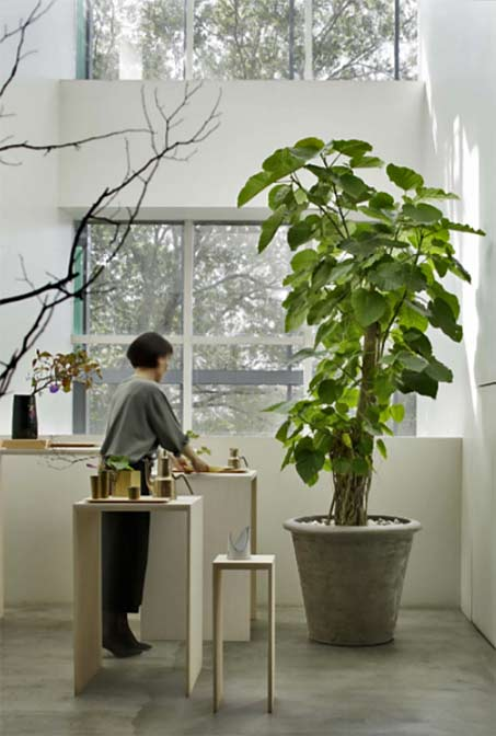 atelier-vierkant pot-sfera-building-japan