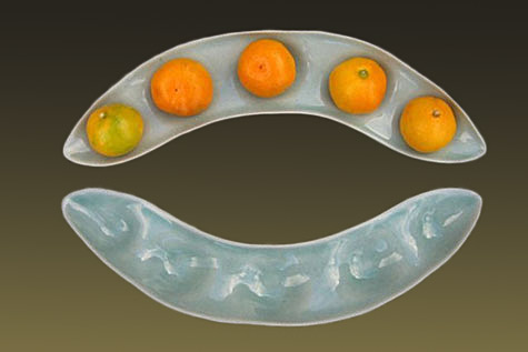 Bean Pod Fruit Bowl