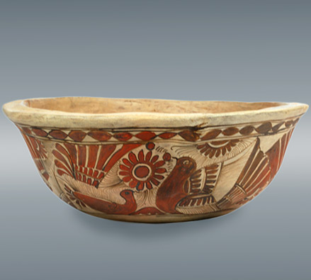 Ceramic Hand Painted Bowl