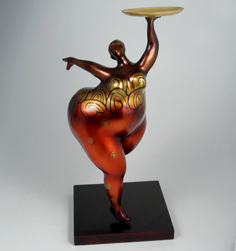 Dancing Belle Sculpture