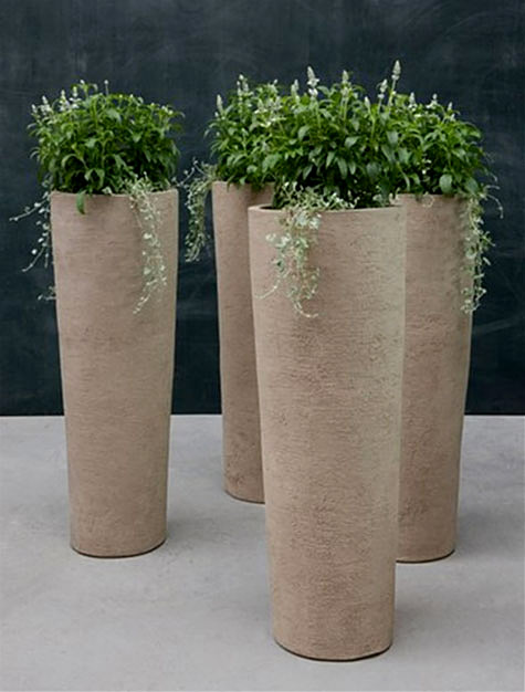 Eco Friendly and Unique planters by Atelier Vierkant