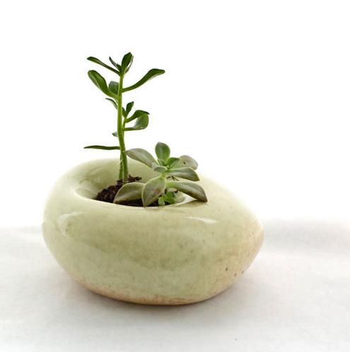 LandMstudio etsy modern sculptural planter
