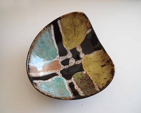 Mid-Century Modern Biomorphic bowl