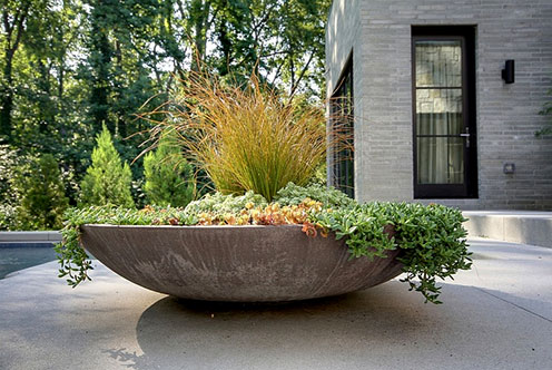 Castro design studio outdoor planter