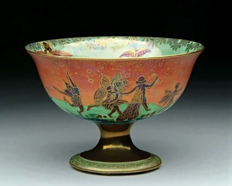 Wedgewood Fairyland Lustre Compote