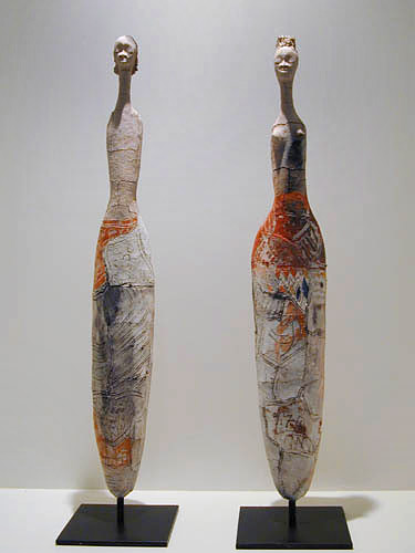 Etiye Poulson ceramic abstract sculpture
