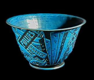 Jazz Bowl Cowan Pottery