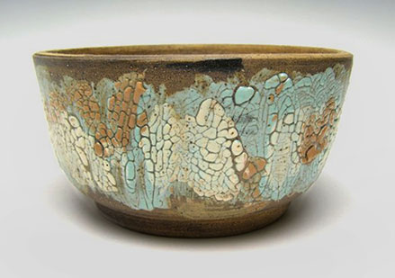 Modern pottery planter