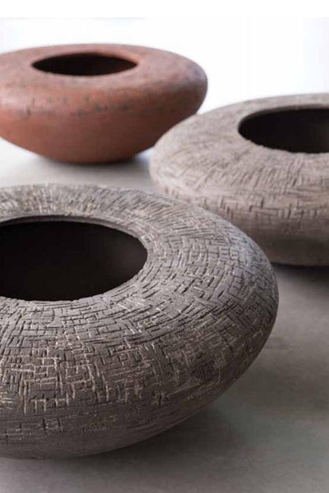 atelier vierkant ceramic pots