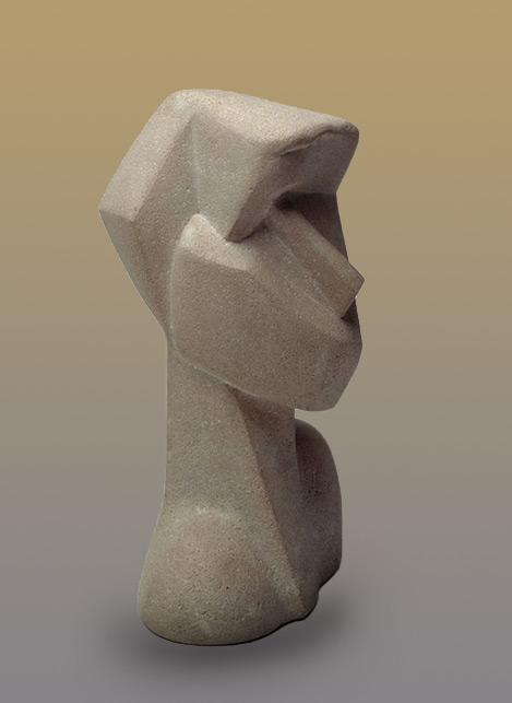 Joseph CSAKY - Testa - 1914