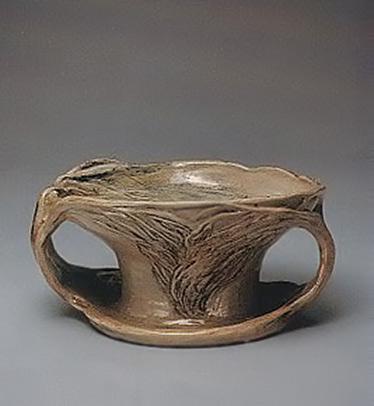 Bowl-with-handles,-Merric-Boyd-1938