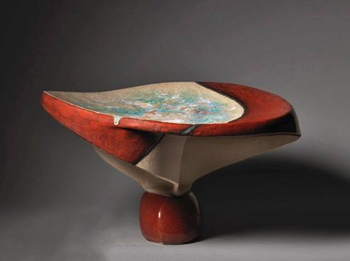 Christine-Ladeveze Erebus 1 ceramic capote