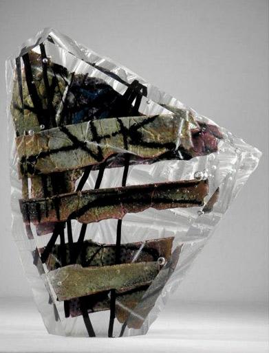 Grant Miller Abstract Art Vase