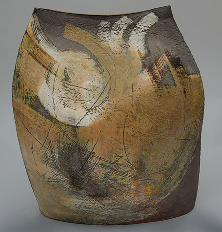George Roby Stoneware Sculpture