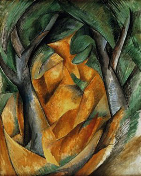 Georges-Braque cubist painting