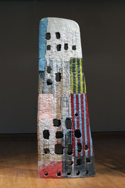 John Balistreri 'Wing'. Soda-fired stoneware with slip and glaze