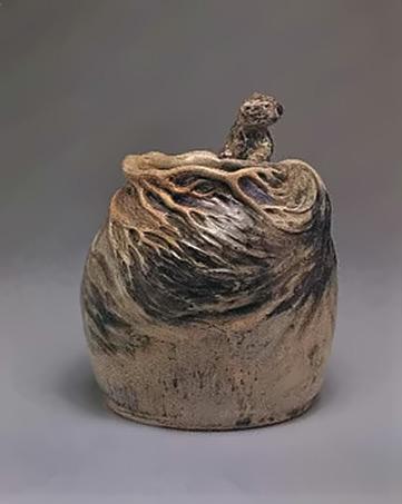 Pot with koala - Merric Boyd