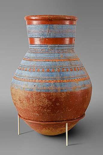 Reign-of-Amenhotep IV Akhenaten (ca.-1353–1336-B.C.) - Met Egyptian pottery