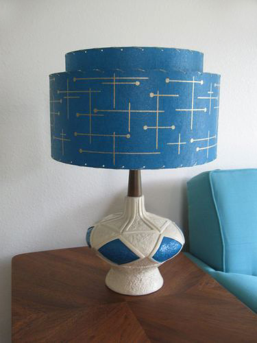 Modern Atomic Retro Lamp