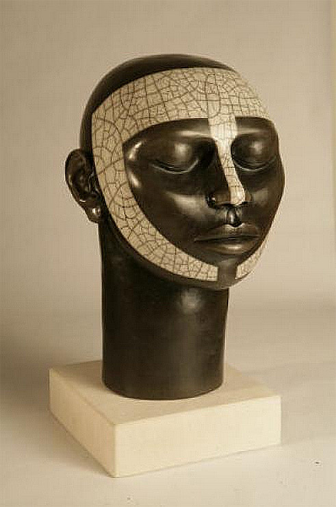 Bume -Janice James head sculpture