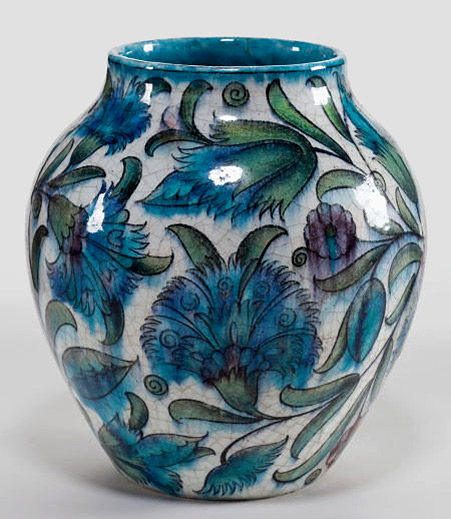 De Morgan - Ceramic vase