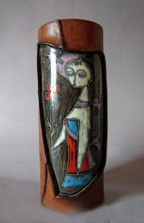 Fantoni Mid Century Vase