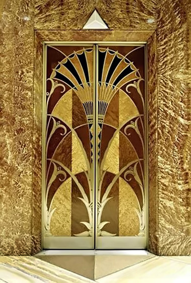 Art Deco Elevator entrance