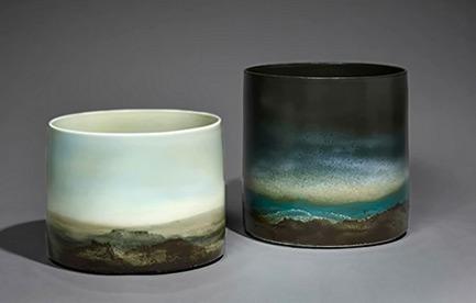 Jean Girel---Seaux paysages