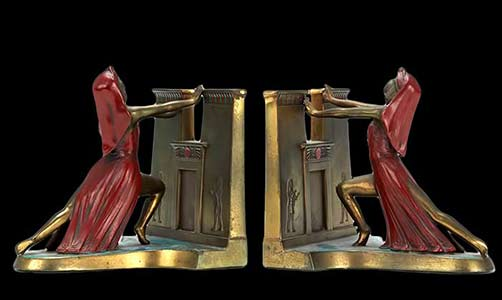 Pair-of-Ronson-Egyptian-Revival-Bronze-Bookends-aspire-auctions
