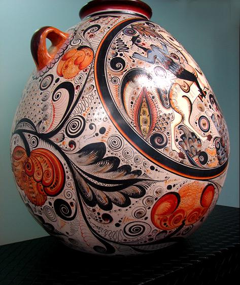 Tonala pottery vessel Flickr--Dee Kincke