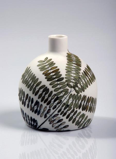 Tania Rollond spherical bottle vase