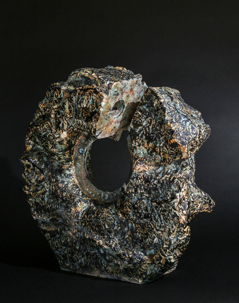 Closure-Removed--2014 abstract sculpture by Danny Rosales