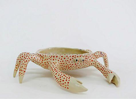 Ceramic crab Caroline Selmes