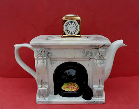 Swineside mantle teapot