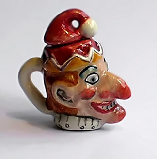 sally meekins ceramics-red-jaster-teapot