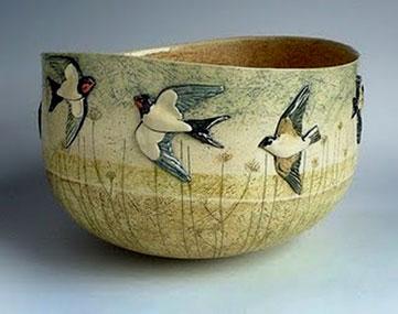 Anna Lambert Swallow Bowl
