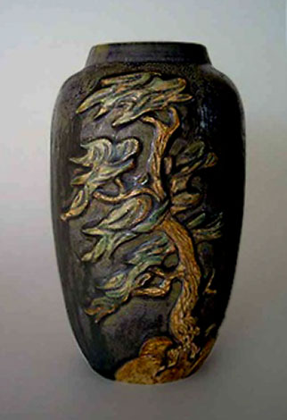 Cedric & Christy Brown tree vase