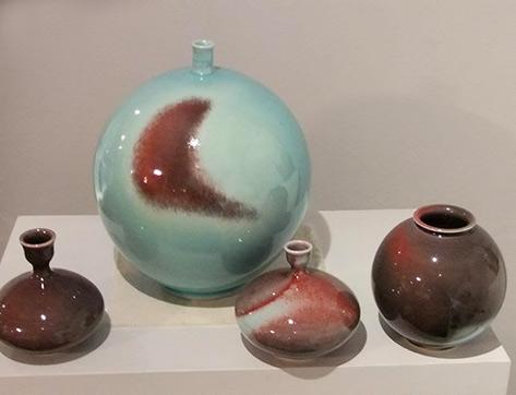 Kim Jin-Hyun - pottery exhibition