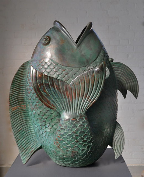 Bronze Fish,-1930 Hostler Burrows