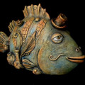 Natalie Ul'yanova Surreal-Clay-Fish