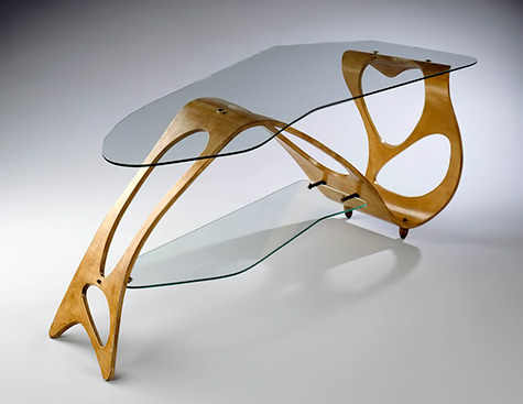 Arabesque- coffee table Carlo Mollino 1950, Turin