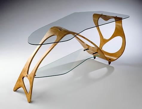 Arabesque- coffee table Carlo Mollino 1950, Turin